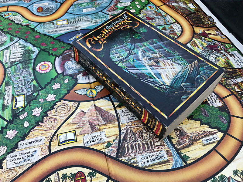 Quest Of The Philosophers Stone 1986 Vintage RPG Board Game Questone  COMPLETE